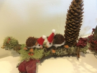 Festive Hedgehogs (sold)