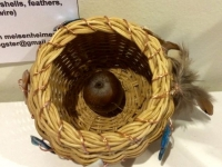 Pine basket (sold)