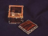 Silver/Teak box ($75)