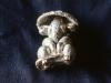 Buddha Mouse, silver ($75)