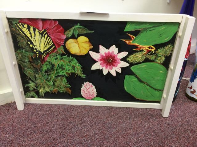 Pond Life, serving tray ($100)
