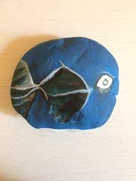 Blue discus
