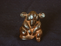 Buddha Mouse, ebony (Sold)